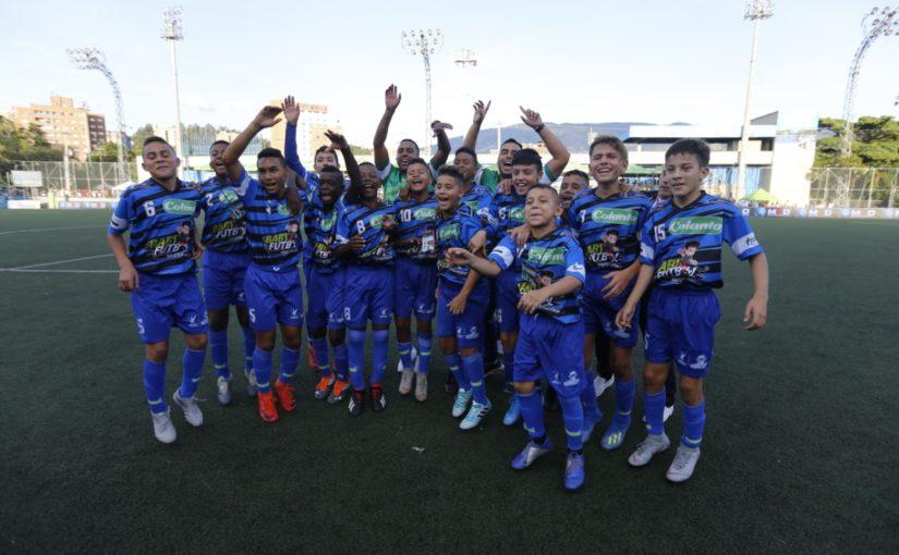 """Asunción de Bogotá y Belén La Nubia, ganadores del Babyfútbol Colanta en el Festivales de Festivales """"Diego León Osorio Céspedes"""""""