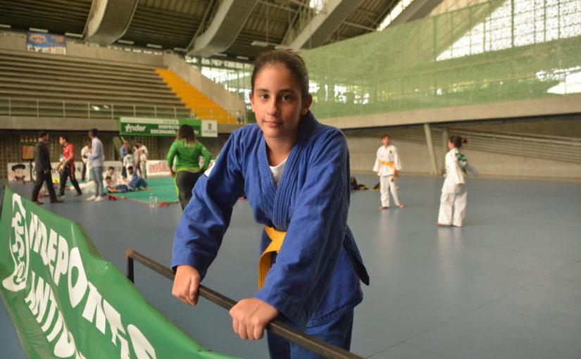 Paulina prefirió el judogi