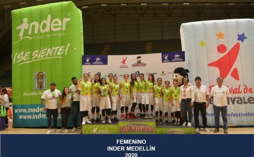 Baloncesto Femenino –  Inder Medellín