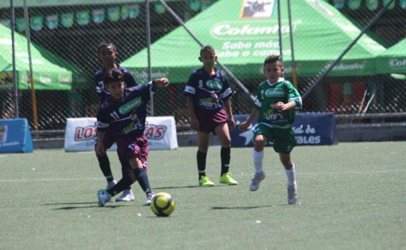32 partidos se disputarán este fin de semana en el Preselectivo Babyfútbol Colanta Medellín.
