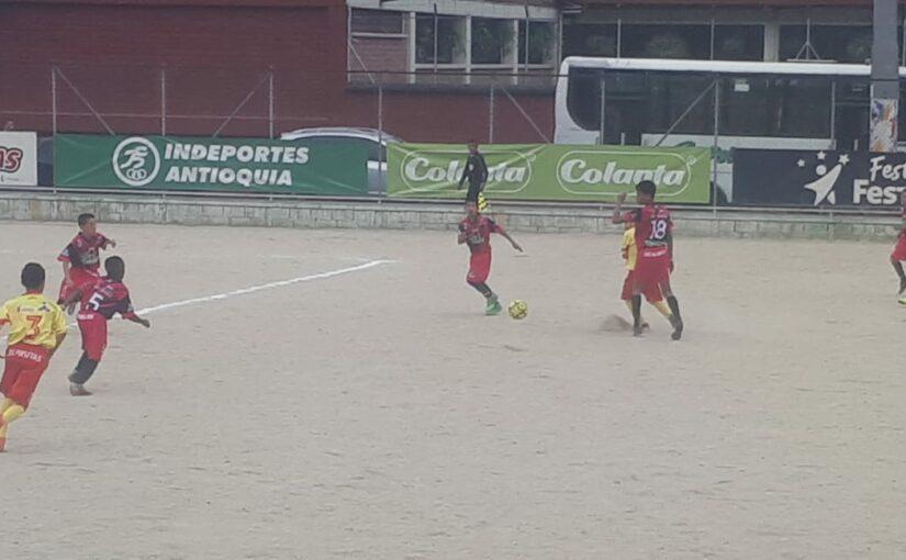 Boletín estadístico Preselectivo Babyfútbol Colanta Medellín fecha 9 y 10.