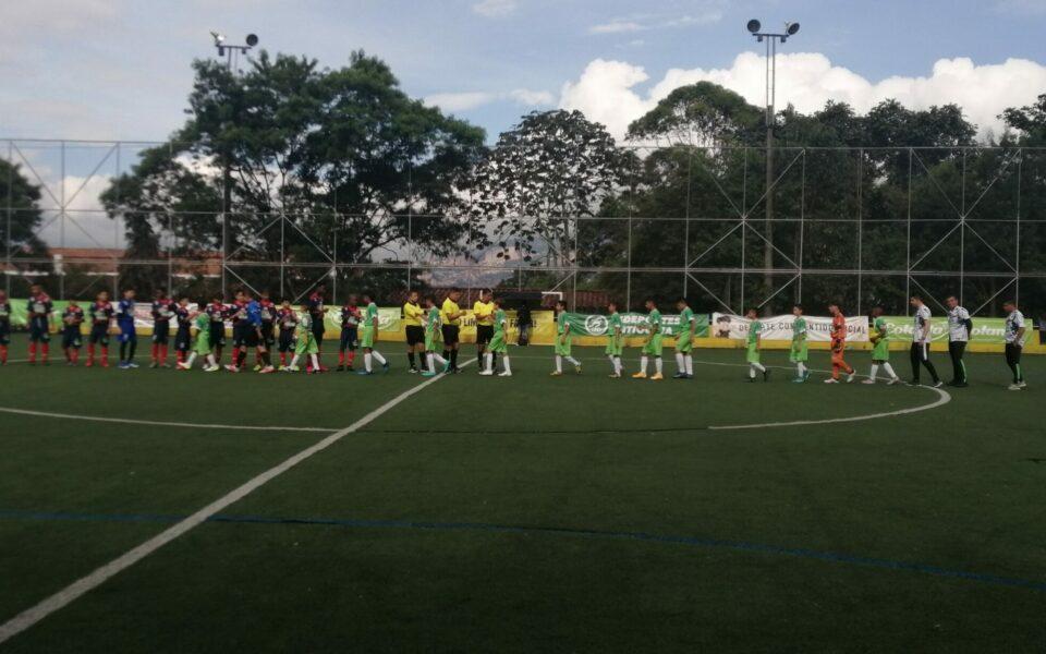 Boletín estadístico Nº1 del Selectivo Babyfútbol Colanta Medellín.